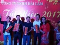 Công ty TNHH Hải Lâm tổ chức tiệc tất niên 2018